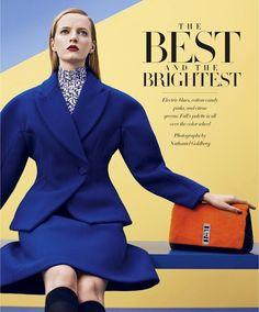 Harper's Bazaar US Setembro 2014 | Daria Strokous por Nathaniel Goldberg [Editorial]