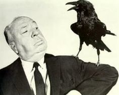 Hitchcock and friend 'Alfred Hitchcock Presents'