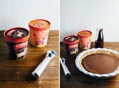 Hot Fudge Brownie Sundae Pie » Hummingbird High Recipe For Hot Fudge, Momofuku Milk Bar, Brownie Sundae, Chocolate Graham Crackers, Graham Cracker Crust, Fudge Brownies, Dessert Recipes, Desserts, Hummingbird
