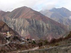 Iruya, pueblo escondido en la montaña al noroeste de la provincia de Salta.