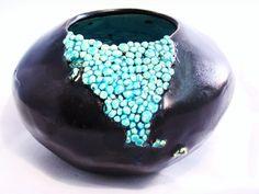 wazon ceramiczny wykonany ręcznie Natalia Machalska