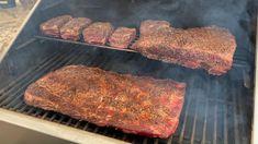 Traeger Recipes, Smoked Meat Recipes, Rib Recipes, Sauce Recipes, Chicken Recipes, Smoker Grill Recipes, Smoker Cooking, Smoked Prime Rib Roast, Smoked Ribs