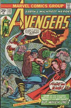 Avengers #132. The Celestial Madonna Saga. The Legion of the Unliving. #Avengers #CelestialMadonna