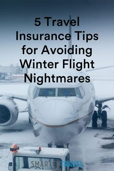 Here are the common winter travel nightmares that insurance could help you escape, and the buying rules to make sure you'll be covered or compensated. Travel Insurance Companies, Car Insurance Tips, Travel News, Travel Guides, Sailing Adventures, Overseas Travel, Going On Holiday, Family Adventure, Winter Travel
