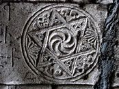 The Armenian Wheel of Eternity and the origin of six pointed star (later on adopted by Jews as a Star of David) takes its origin in Armenian Highland ...