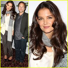 Katie Holmes: 'Dead Accounts' Broadway Photo Call!