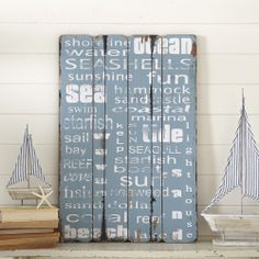 Nautical inspired sign £12.95