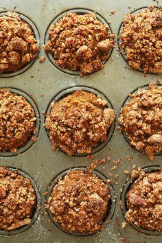 Vegan Pumpkin Muffins | Minimalist Baker Recipes