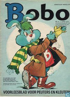 Bob, stripblad van de kleuterschool