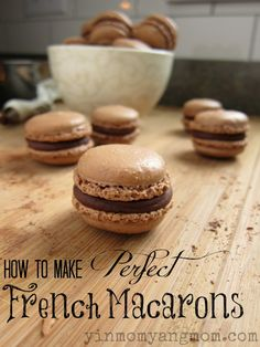 Mexican Chocolate Macarons Recipe; great tutorial with product links!