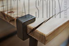 stół Richmond zbliżenie #metalstory #stol #mebleloftowe
