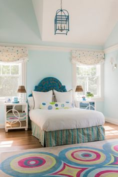 Beautiful girl's room from Jill Litner Kaplan Interiors. #laylagrayce #childrensroom