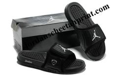 30d83d2c7 Cheap Air Jordans 14 Massage Slippers Black White Gray