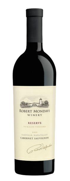2011 Cabernet Sauvignon Reserve  Robert Mondavi   To Kalon Vineyard