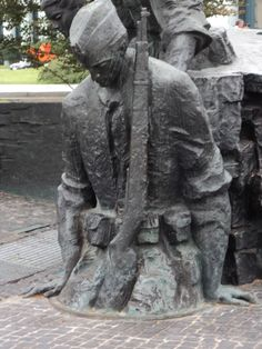 Warsaw, Monument to the 1944 Warsaw Uprising