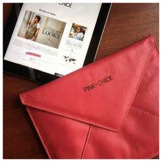 Porta Ipad Pink <3
