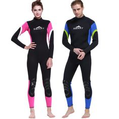 New Arrival 3MM Neoprene Wetsuit Thermal Winter Long Sleeve Warmth One-piece Thicken Swimwear Sknorking Scuba Diving