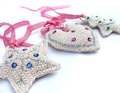 Crochet Christmas Ornaments  ❥Teresa Restegui http://www.pinterest.com/teretegui/❥