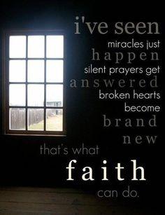 mustard seed faith to great big faith. FAITH is FAITH