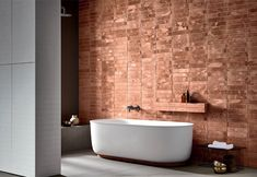 """archiproducts: """" Clay and Corian: these are the two materials Rexa Design introduces in its new collection by Monica Graffeo. HAMMAM evokes the alluring atmpospheres of oriental bathrooms recreating. Bathroom Spa, Bathroom Trends, Bathroom Colors, White Bathroom, Small Bathroom, Master Bathroom, Bronze Bathroom, Style At Home, Decoration Inspiration"""