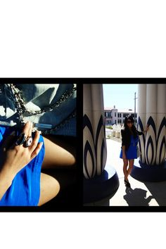 Blue Eight Sixty Dress @Chictopia @Chictopia USA