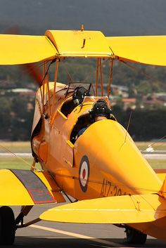 RAAF de Havilland Tiger Moth trainer