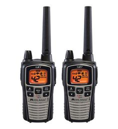 MIDLAND GXT1050VP4 TWO 2 WAY RADIO WALKIE TALKIE 36 MILE FRS/GMRS PAIR CAMO