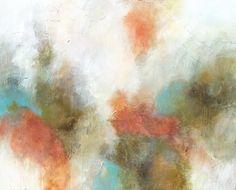 """Melissa Payne Baker, """"Lily,""""  mixed media on canvas, 48 x 60"""