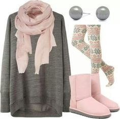 Lazy Winter Outfit