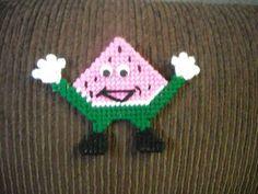 Watermelon Guy Magnet