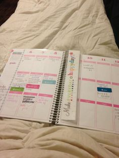 Twitter / brooklyn_burton: Really truly in love with my erincondren planner!