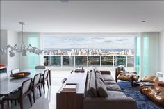 Penthouse Skyline in Central Brazil / Project Andre Lenza