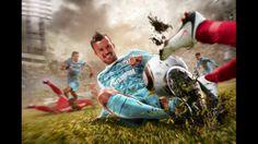 Retouching sample - FC Zenit Poster. specialone.ru