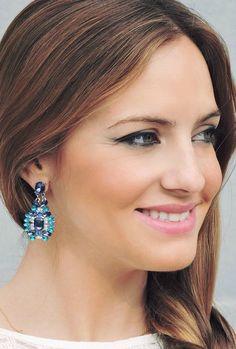 Ocean Blue Statement Earrings 13,90 € #happinessbtq