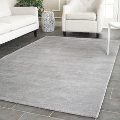 Safavieh Handmade Himalaya Grey Wool Rug (10' x 14') - Overstock™ Shopping - Great Deals on Safavieh 7x9 - 10x14 Rugs