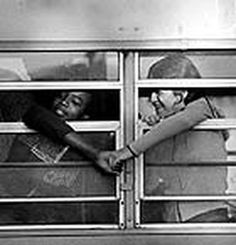 archive photo of kids in unity during segregation/integration