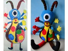 turning children's drawings into stuffed animals