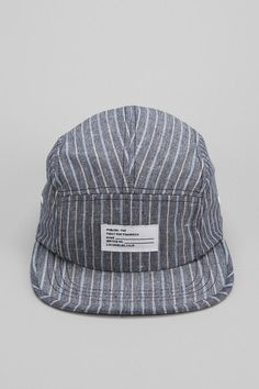 8dc8951f316 Publish Barbier Stripe 5-Panel Hat  urbanoutfitters Five Panel Hat