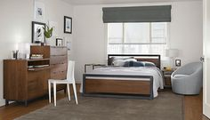Creative Tonic loves Piper Wood Panel Bed - Beds - Bedroom - Room & Board