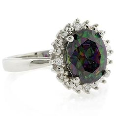 Mystic Topaz Engagement Ring!