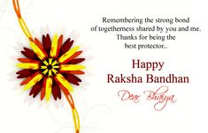 Top 15 Happy Raksha Bandhan Images for Brother with Wishes Msg 2018 Birthday Wishes For A Friend Messages, Best Wishes Messages, Raksha Bandhan Greetings, Raksha Bandhan Wishes, Brother Sister Quotes, I Love My Brother, Rakhi Greetings, Miss Me Quotes, Happy Raksha Bandhan Images