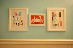 Kids Bathroom printables
