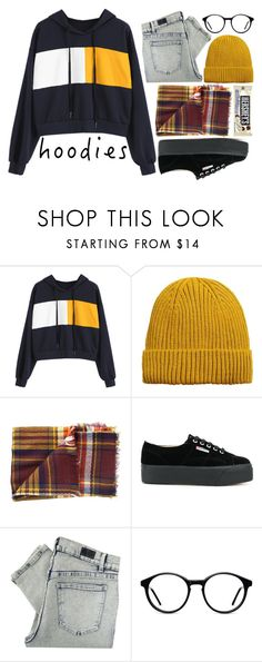 """easy with hoodie"" by fedeandrer ❤ liked on Polyvore featuring MANGO MAN, Cents of Style, Superga, Cheap Monday and Hoodies"
