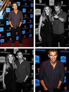 Shailene Woodley & Theo James.