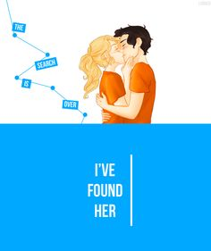And she found him.
