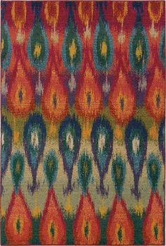 - description - specifications - warranty Kaleidoscope is a machine-woven collection of textured polypropylene. Designs showcase bright, vibrant colors such as sunshine yellow, tangerine, hot pink and