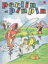 PERLIN et PINPIN Août 1960 N°35 Hebdomadaire pour ENFANTS Jeux et BD 5ème année
