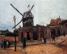 「ムーラン・ド・ラ・ギャレット」 1886  クレラー=ミュラー美術館