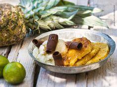 Αργυρώ » Καραμελωμένος ανανάς