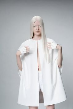White Cape by sandrachagen on Etsy